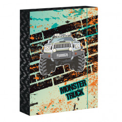Box na zošity A4 Monster Truck
